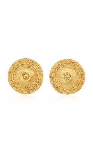 Moneda 24K Gold-Plated Earrings