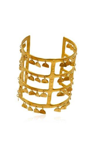 24K Gold-Plated Sonajero Cuff