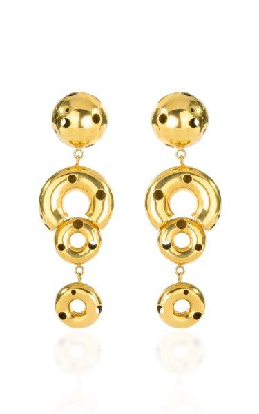 24K Gold-Plated Mobil Earrings