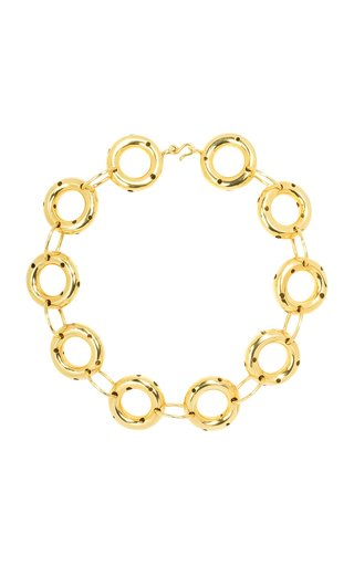 24K Gold-Plated Donnat Necklace