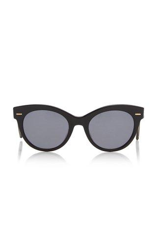 Georgica Oversized Round-Frame Acetate Sunglasses