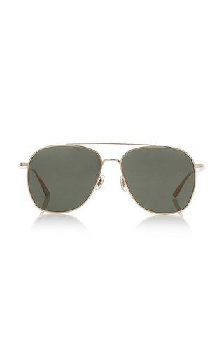 Ellerston Aviator-Frame Metal Sunglasses