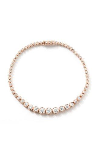 18K Rose Gold Prive Luxe Diamond Tennis Bracelet