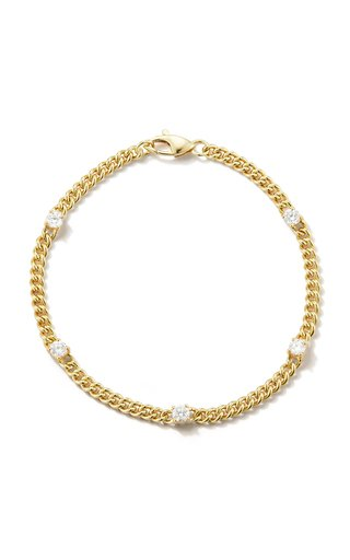 18K Yellow Gold Toujours Diamond Bracelet