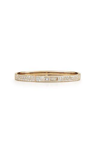 18K Yellow Gold Prive Luxe Diamond Cuff