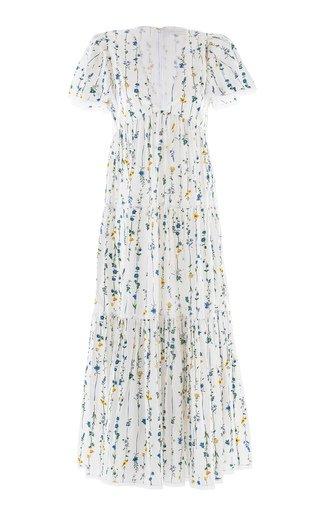 Agnes V-Neck Tiered Dress