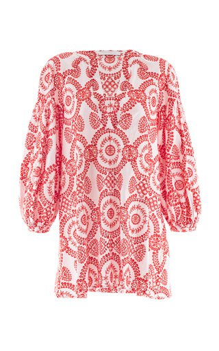 Harlow Broderie Anglaise Mini Dress