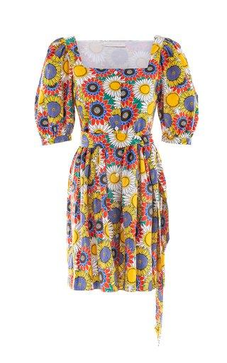 Dominique Mini Button Front Dress