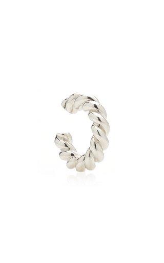 Twisted Sterling Silver Ear Cuff