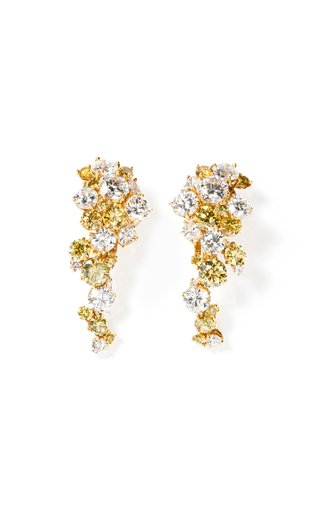 One Of A Kind Marina B 18K Yellow Gold Earrings