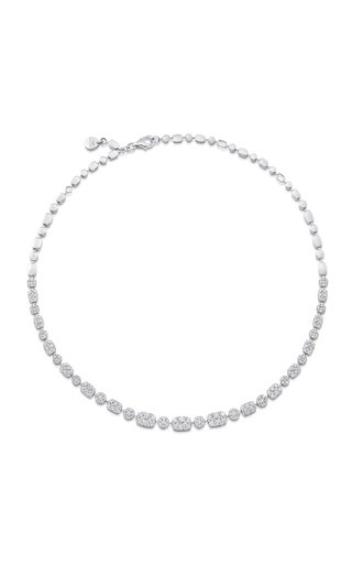 Rêverie 18K White Gold Diamond Choker