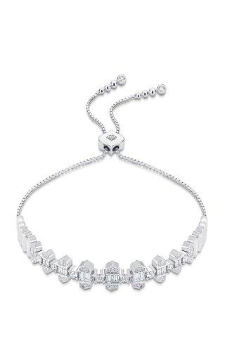 Taj 18K White Gold Diamond Bracelet
