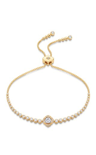 Leela 18K Yellow Gold Diamond Bracelet