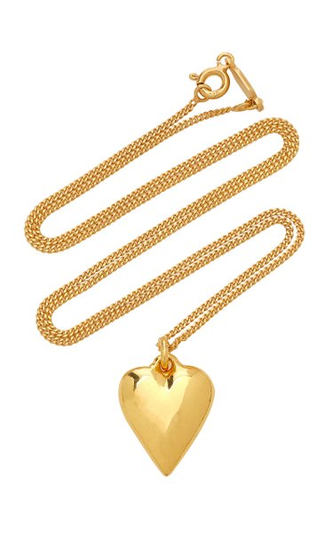Exclusive Heart 14K Gold-Plated Necklace