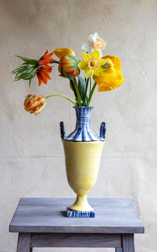 Neo-Classical Earthenware Vase