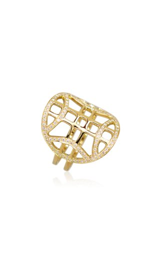 Heliopolis 18K Yellow Gold Diamond Ring