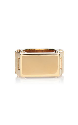 18K Gold-Plated Ring