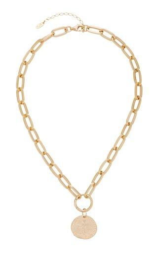 Elijah 18K Gold-Plated Necklace