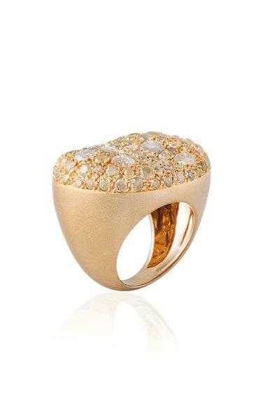 Malak 18K Yellow Gold Diamond Ring