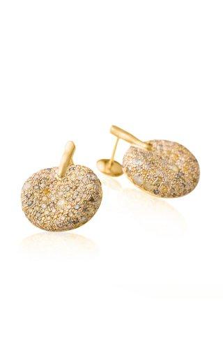 Malak 18K Yellow Gold Diamond Earrings