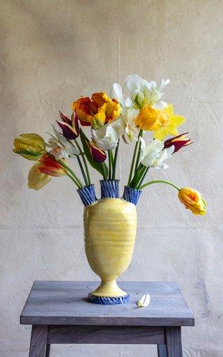 Three-Spout Earthenware Tulipiere