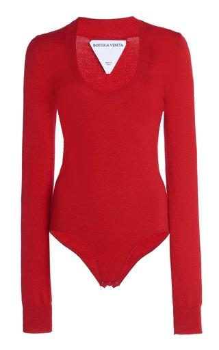 Cashmere-Blend Bodysuit