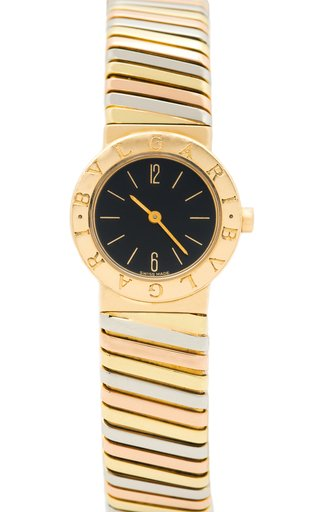 18K Tri-Color Gold Bulgari Tubogas Single