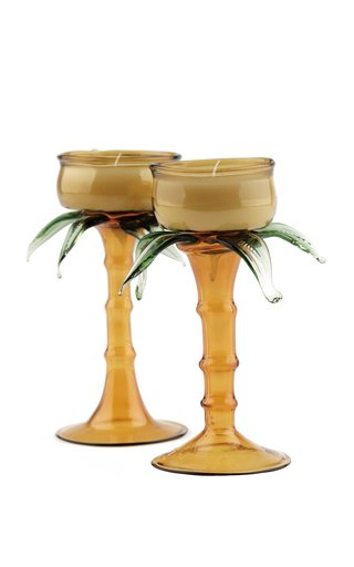 Mist Jade Sincelejo Candle Holders Set