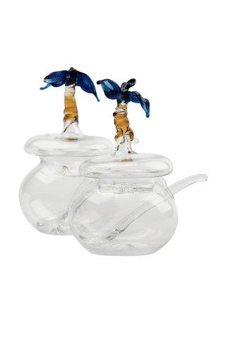 Heritage Blue Vichada Salt And Peppers Set