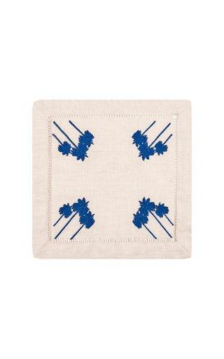Set-Of-Four, Heritage Blue Radial Cocora Napkins