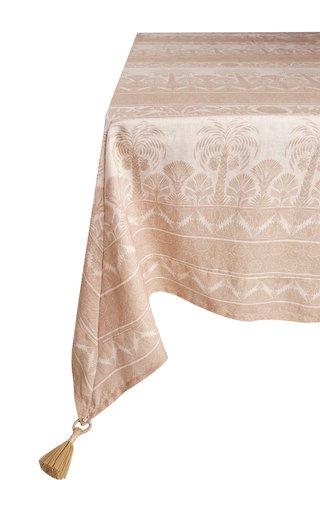 Square Spice Natural Nuquí Tablecloth