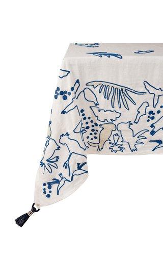 Square China Blue Esperanza Tablecloth