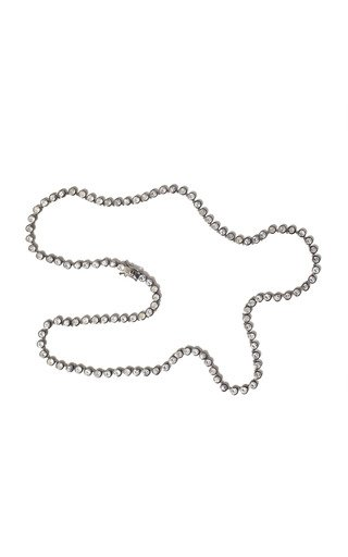 Nakard Small Sterling Silver Zircon Necklace