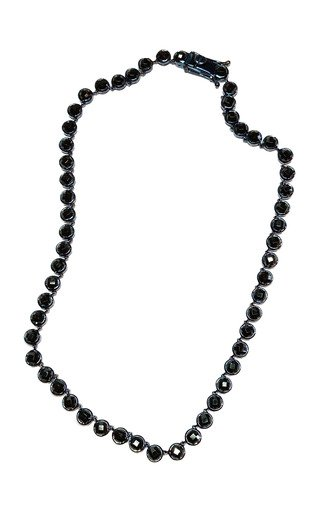 Nakard Mini Dot Sterling Silver Spinel Necklace