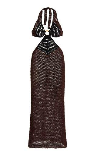 Bambu Crocheted Cotton Dress