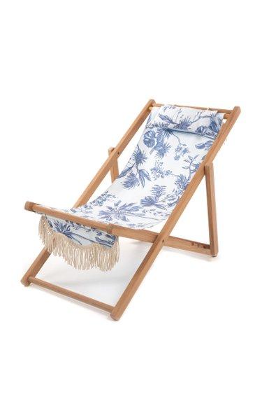 The Sling Printed Canvas Beach Chair