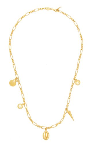 Summer Treasure Gold-Plated Sterling Silver Necklace