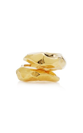 Richie Gold-Plated Twist Ring