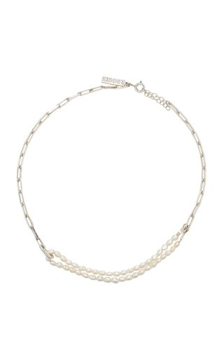 Sterling Silver and Pearl Choker