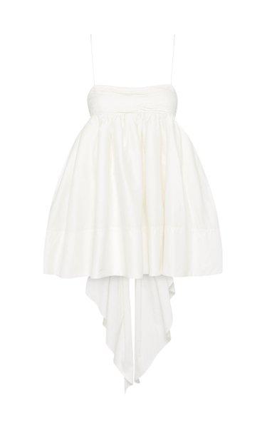 Cantina Bow Back Cotton Mini Dress