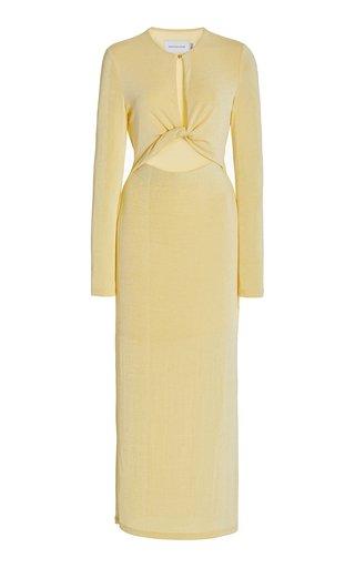 Monza Cutout Jersey Midi Dress