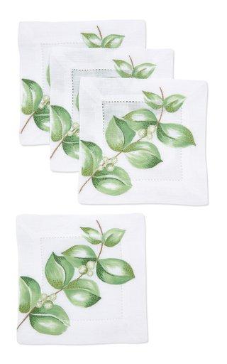 Set-Of-4, Eucalyptus Coaster