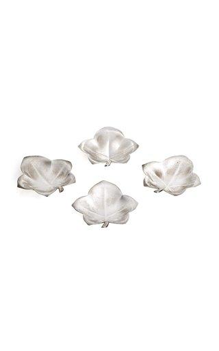 Tiffany & Co Sterling Leaf Dishes/Ashtrays