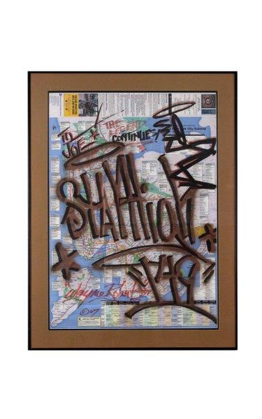 Stay High 149 Original Art on Subway Map