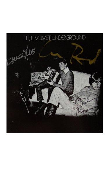 Velvet Underground Fully Signed Third Album Booklet