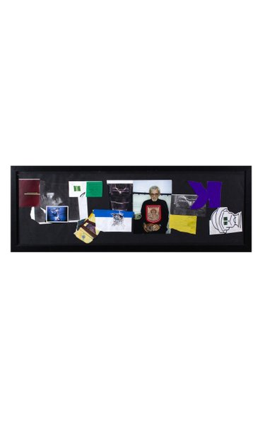 Mark Gonzales Untitled Triptych