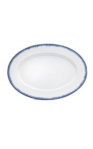 """Nc - Serengeti - Feathered - 16"""" Oval Plate"""