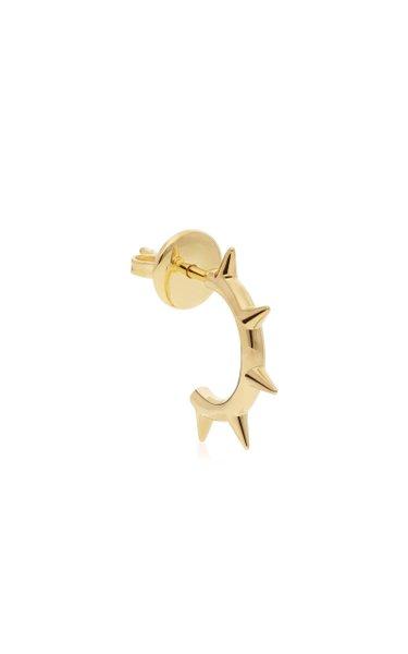 1987 18K Yellow Gold Stud Earring