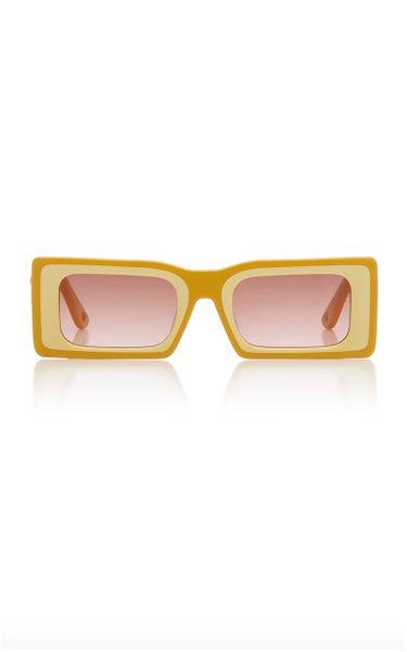 Hera Square-Frame Sunglasses