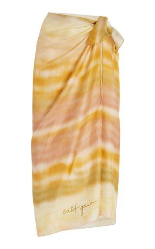 Gaias Large Silk Pareo